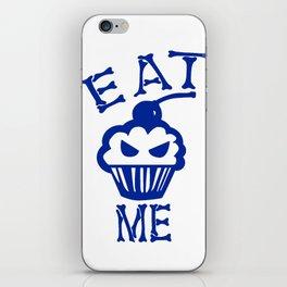 Eat Me (Blue Version) iPhone Skin
