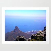 south africa Art Prints featuring South Africa Impression 9 by Art-Motiva