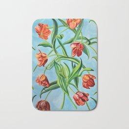 Happy Tulips Bath Mat