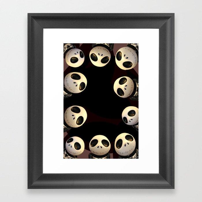 Nightmare before Christmas. Framed Art Print by alyssatan | Society6