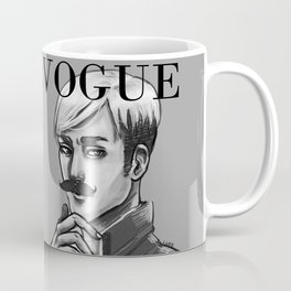 Commander Handsome on the cover of Vogue Coffee Mug