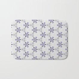 Multi Purple Pattern Design Bath Mat