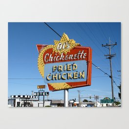 Hays, Kansas - Al's Chickenette 2009 Canvas Print