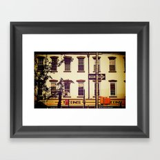 Postcard to Mom, From New York Framed Art Print
