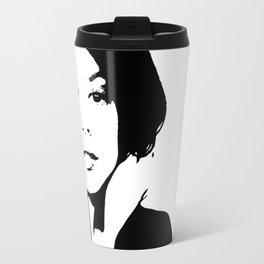 Black & White Beauty Travel Mug