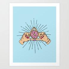 Dough-luminati Art Print