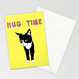 Hug Time - Happy Time Stationery Cards