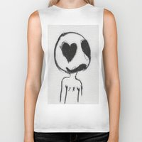 larry stylinson Biker Tanks featuring Larry by Anna Dunlap Hartshorn