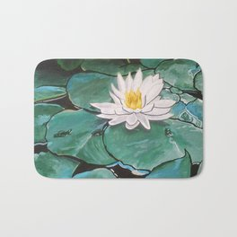 Lily of the Water Bath Mat