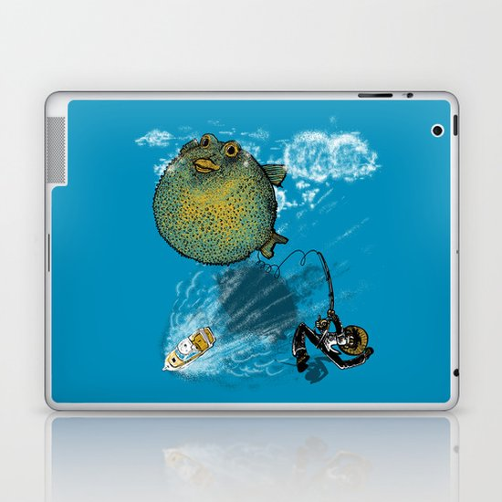 pufferfish baloon Laptop & iPad Skin