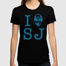 San Jose Shark's Teal I >0 SJ T-shirt