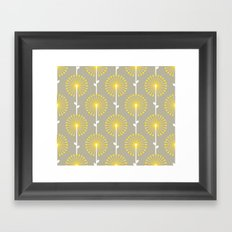 Yellow Lehua Framed Art Print