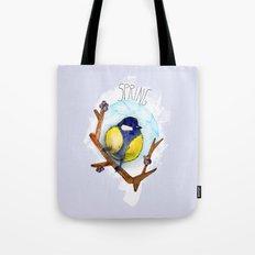 Spring birdy / Nr. 3 Tote Bag
