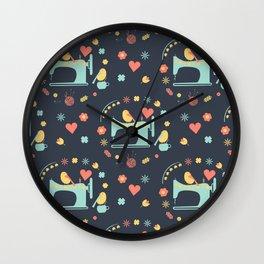 Love sewing Wall Clock