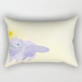 Mysterious Kitty Rectangular Pillow