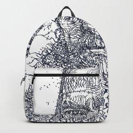 FYODOR DOSTOYEVSKY - ink portrait Backpack