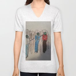 New zombie stuff two for sale Unisex V-Neck