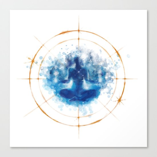 Re-Emergence Canvas Print