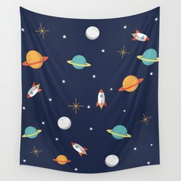 Space Pattern Wall Tapestry