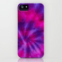 Aura Tie Dye iPhone Case