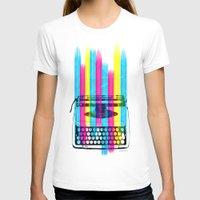 typewriter T-shirts featuring Typewriter by Elizabeth Cakovan