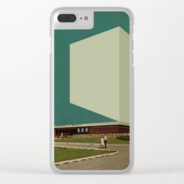 Block 46 Clear iPhone Case