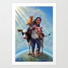 Genesis Butler Art Print