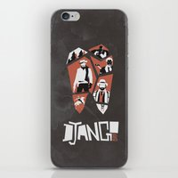 django iPhone & iPod Skins featuring Django Unchained by Lechaftois Boris (LBö)