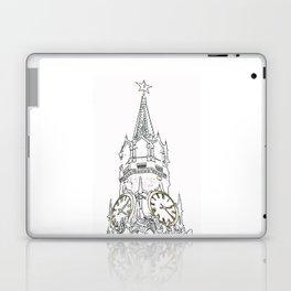 Kremlin Chimes- white Laptop & iPad Skin