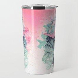 Tsuru Origami Girl Travel Mug