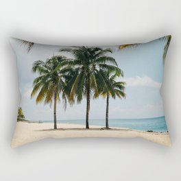 Beach Side Happy Place Rectangular Pillow