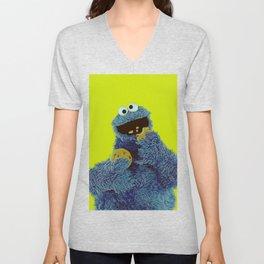 Cookie Monster Unisex V-Neck