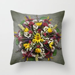 Nature Mandala: May Throw Pillow
