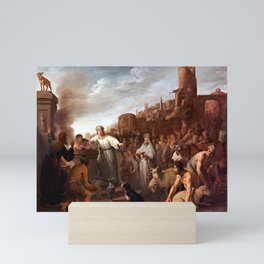 Claes Moeyaert Sacrifice of Jeroboam Mini Art Print