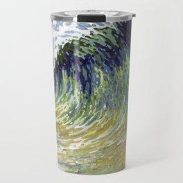 Surf's Up Big Wave Juul Art Travel Mug