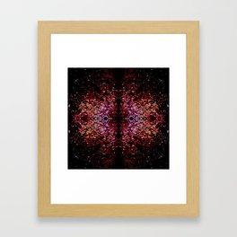 Connected feelings. Framed Art Print