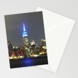 Blue Empire Stationery Cards