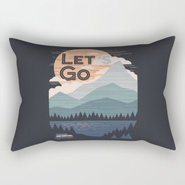 Let's Go Rectangular Pillow