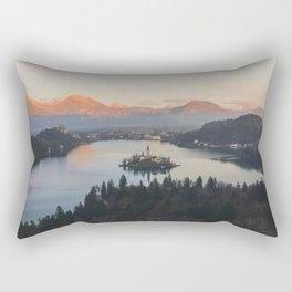 Lake Bled, Slovenia II Rectangular Pillow