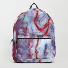 Encaustic Horse (Red) Backpack