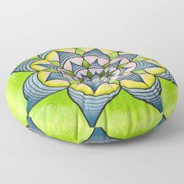 Spring has Sprung Floor Pillow