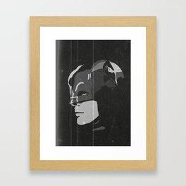 Adam West's Caped Crusader Framed Art Print