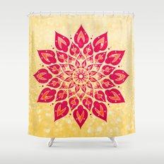 Mandala Savasana Shower Curtain
