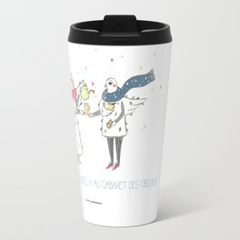 If i were a brid by Andsmile studios Travel Mug