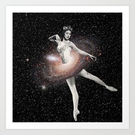 Cosmic Ballerina, Part 2 Art Print