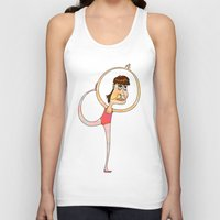 dancer Tank Tops featuring Dancer by Mimi