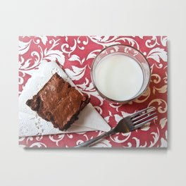 Double Fudge Metal Print