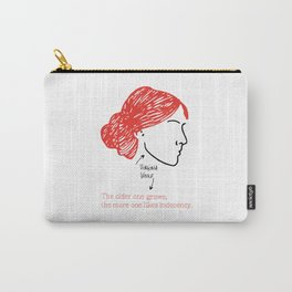 History's Women: Virgina Woolf Carry-All Pouch