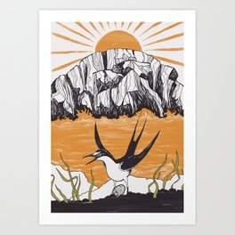 The Birdman Religion Art Print