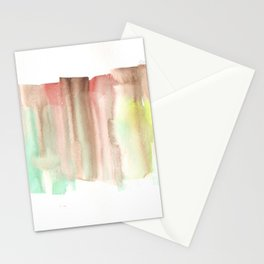 [161228] 24. Abstract Watercolour Color Study|Watercolor Brush Stroke Stationery Cards
